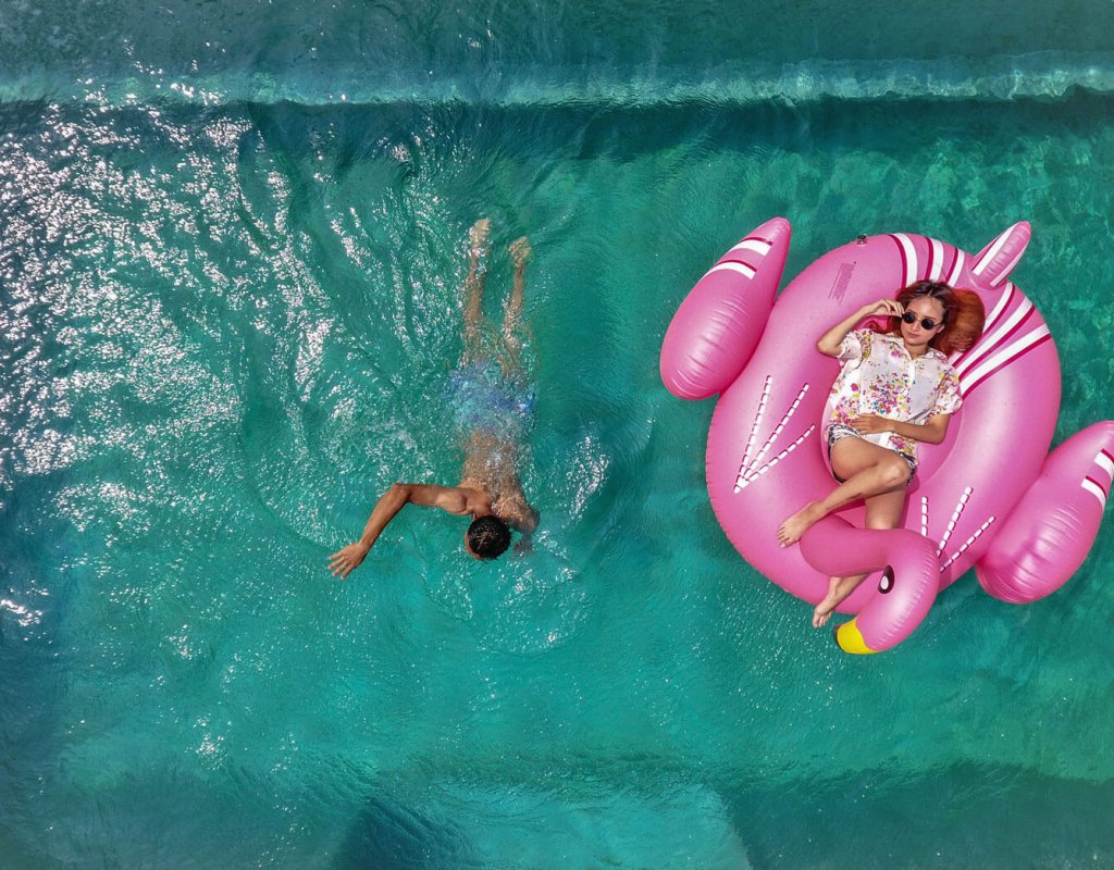 Villa-Borobudur-Temple-Resort-Luxury-Hotel-Java-Indonesia-Borobudur-suites-aerial-swimming-pool